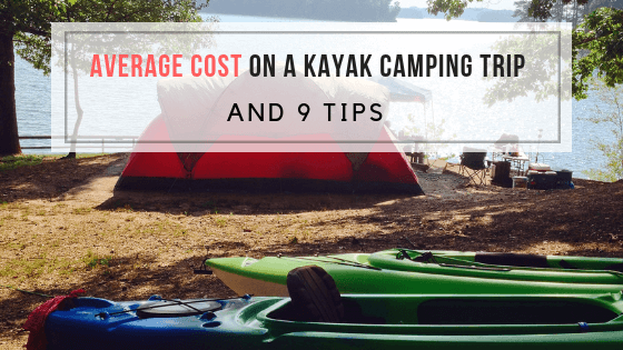 average cost on kayak camping trip