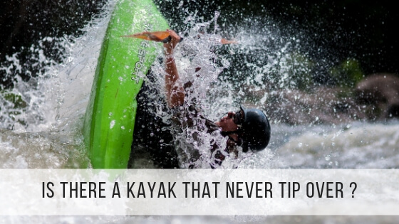 kayak tip over