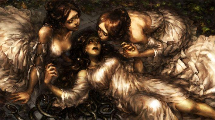 10. Art - The Gorgon Sisters