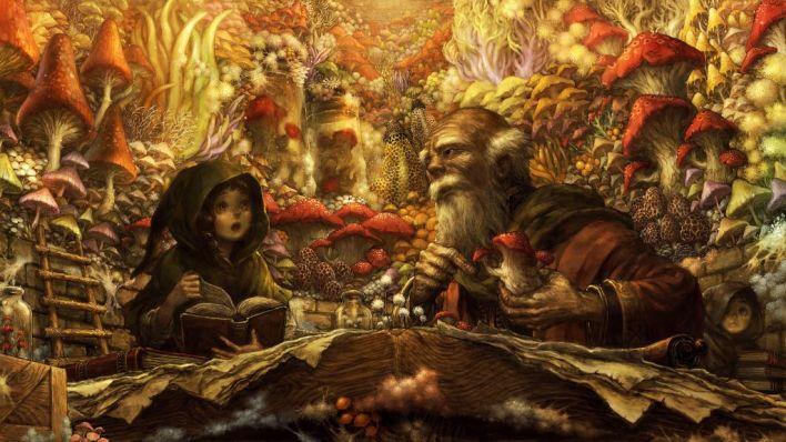 6. Art - Fungi-Researchers
