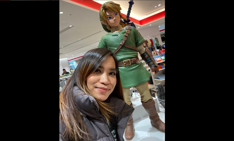 Photo of Kayane in Japan : Un petit tour au Nintendo Store de Shibuya !