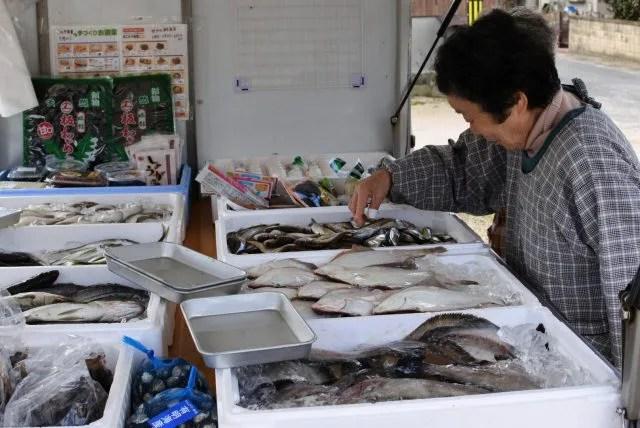 境港 鮮魚販売