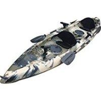 BKC UH-TK181 12.5 foot Sit On Top Tandem Fishing Kayak