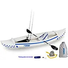 Sea Eagle SE370 Inflatable Sport Kayak Fishing