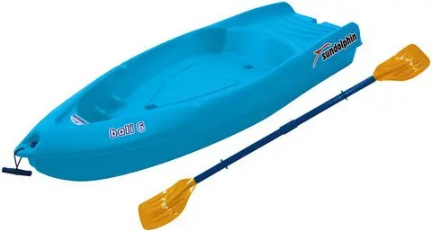 Sun Dolphin Bali 6-Foot Sit-on-top Kayak