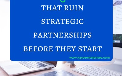 4 Mistakes That Ruin Strategic Partnerships Before They Start