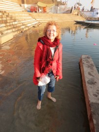 Washing my sins away (I wish) in the Ganges