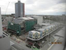 Slowly rebuilding downtown