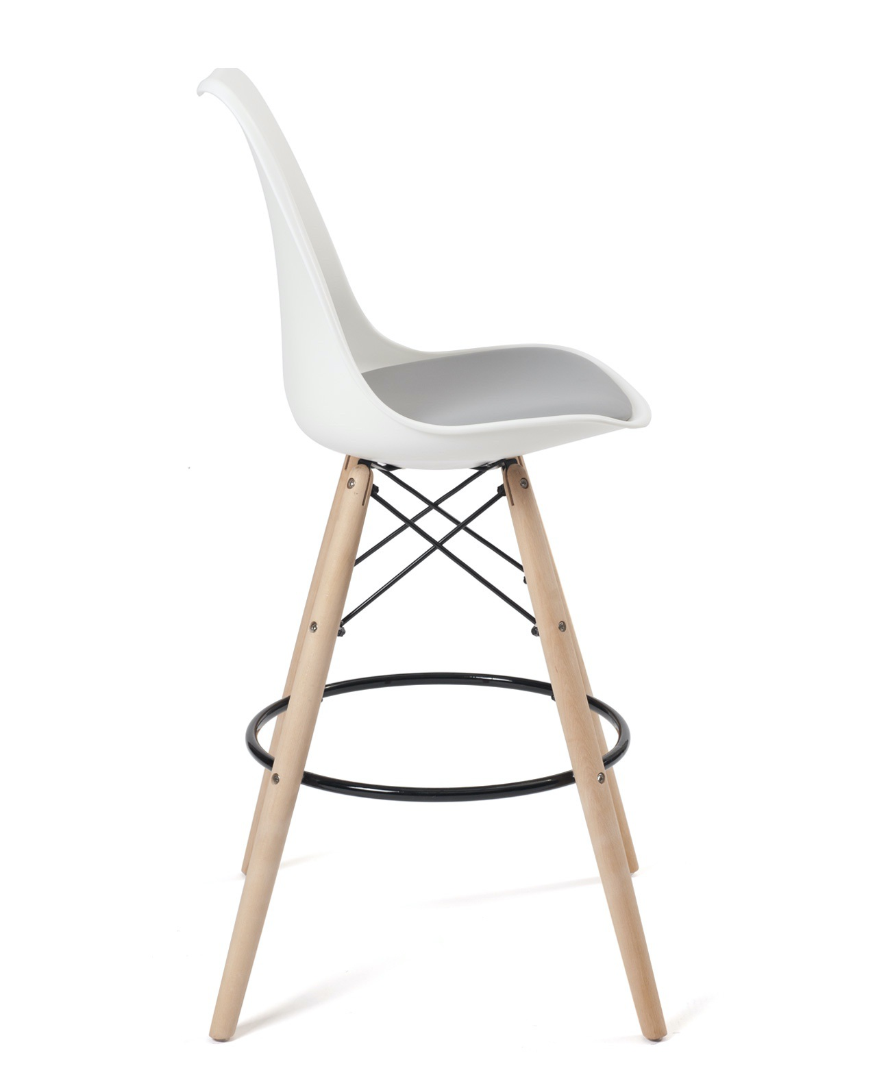 lot de 2 chaises de bar scandinave nasa