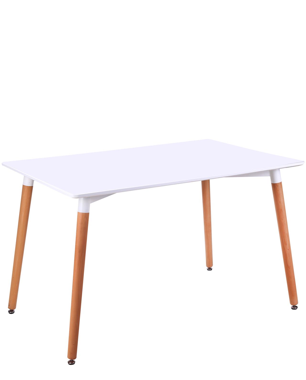 table de cuisine scandinave 120 x 80 cm nata