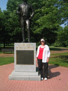 Kaye Spencer in 2009 at Valley Forge