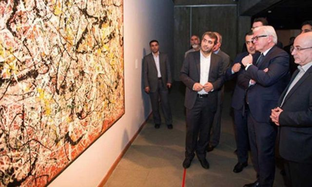 اشتاین مایر وزیر امور خارجه آلمان در تهران