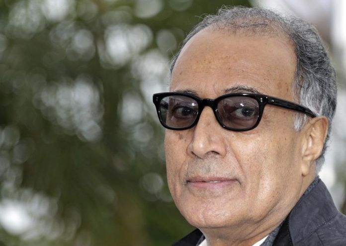 "FILE PHOTO: Director Abbas Kiarostami poses during a photocall for the film ""Like Someone in Love"" in competition at the 65th Cannes Film Festival, May 21, 2012.                          REUTERS/Eric Gaillard"