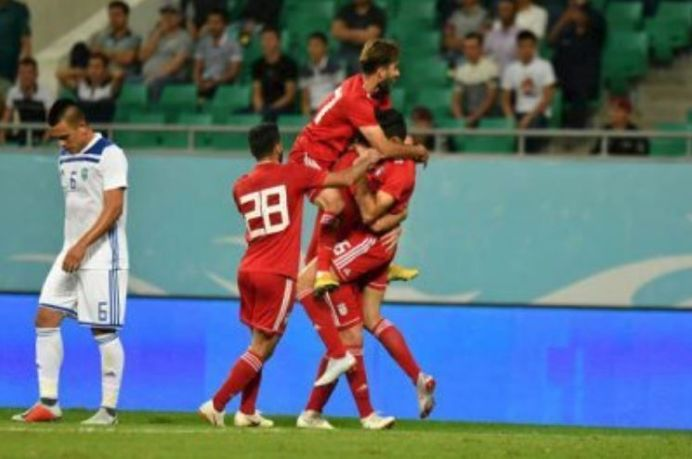 Friendly match between the Iranian and Bolivian national teams. Source: Kayhan London