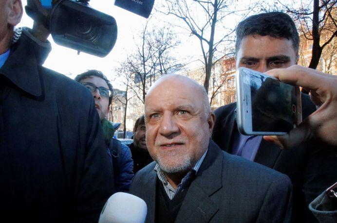 Iran's Oil Minister Bijan Zanganeh. REUTERS