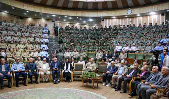 Iran's national conference on new security threats. Source: Kayhan London
