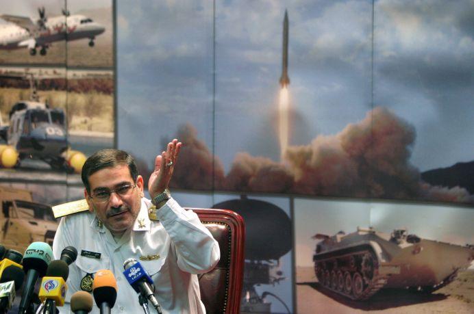 Ali Shamkhani. REUTERS/Morteza Nikoubazl