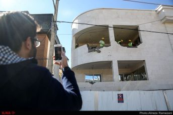 Demolishing nematzadeh house
