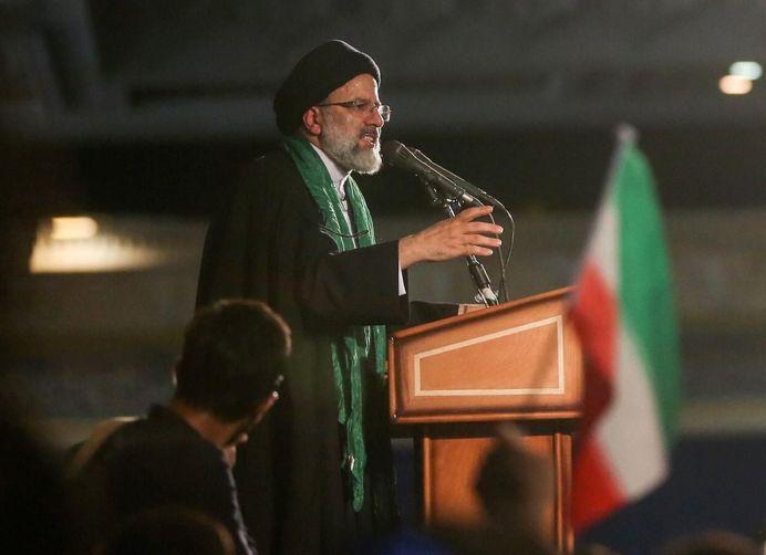 FILE PHOTO: Ebrahim Raisi. REUTERS