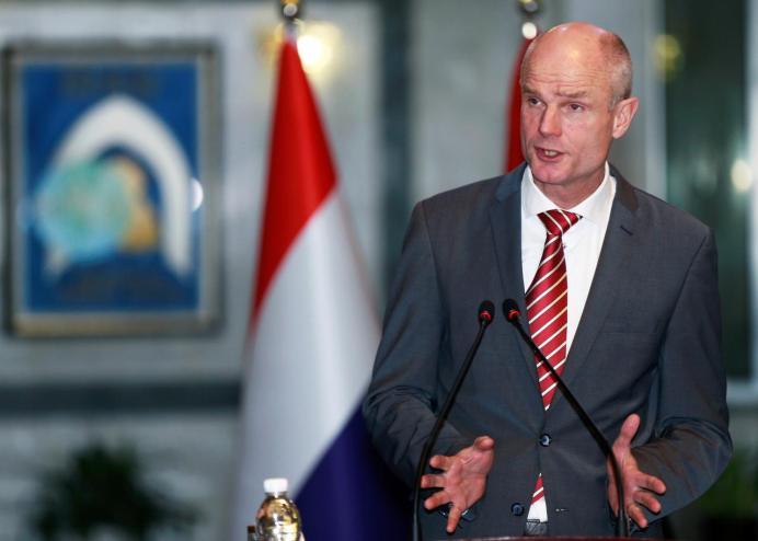 Dutch Foreign Minister Stef Blok. Reuters