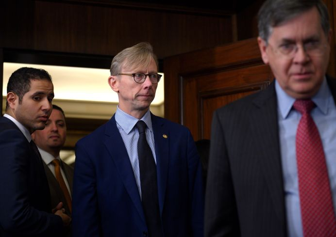 FILE PHOTO: Brian Hook, U.S. Special Representative for Iran and Senior Policy Advisor to the Secretary of State. REUTERS