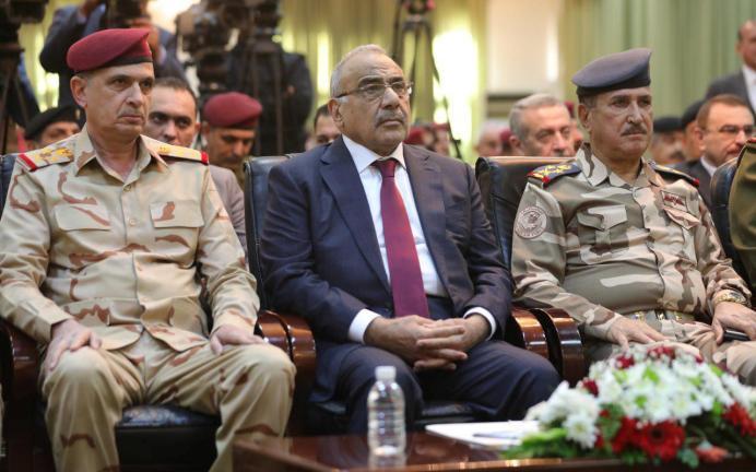 Adel Abdul Mahdi. REUTERS