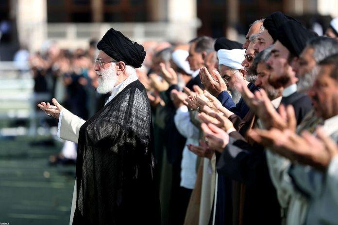 2019-06-05T082436Z_834526381_RC17056C19C0_RTRMADP_3_IRAN-EID-KHAMENEI