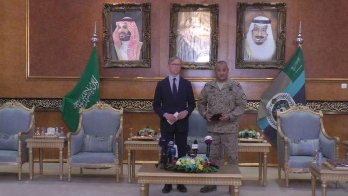 US envoy visits Saudi Arabia amid tensions with Iran. Reuters