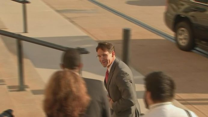 FILE PHOTO: U.S. Acting Defense Secretary Mark Esper arrived for his first day of work at the Pentagon on Monday. REUTERS