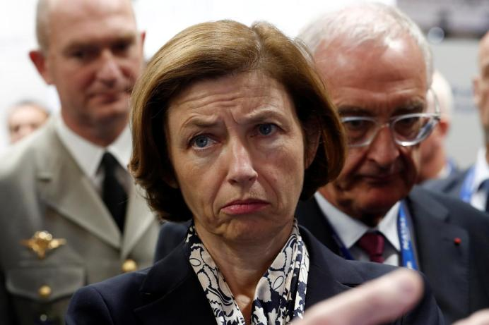 FILE PHOTO: French Defence Minister Florence Parly. Reuters