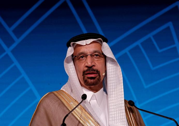 FILE PHOTO: Saudi Energy Minister Khalid al-Falih. REUTERS/Adnan Abidi