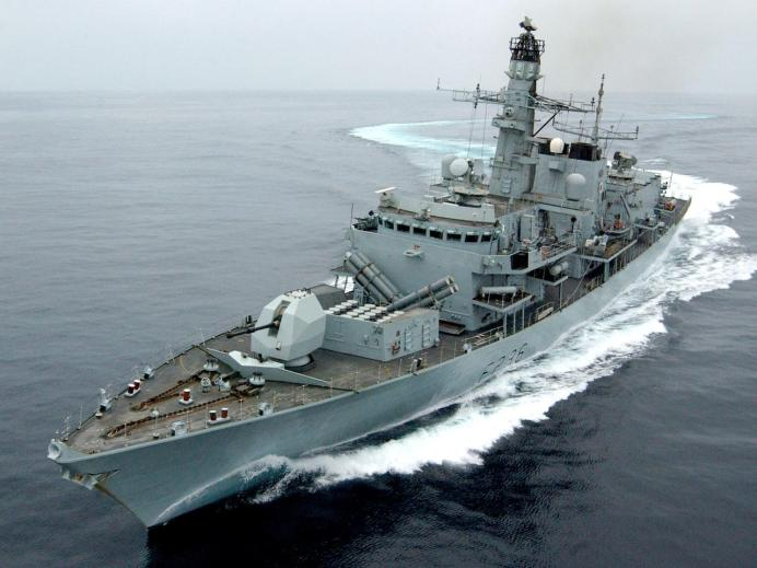 FILE PHOTO: Royal Navy Type 23 frigate HMS Montrose. POA(Phot) Mick Storey/Royal Navy/Handout via REUTERS