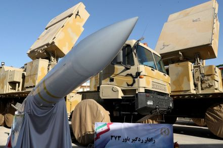 The domestically built mobile missile defence system Bavar-373 is displayed on the National Defence Industry Day in Tehran, Iran August 22, 2019. REUTERS./