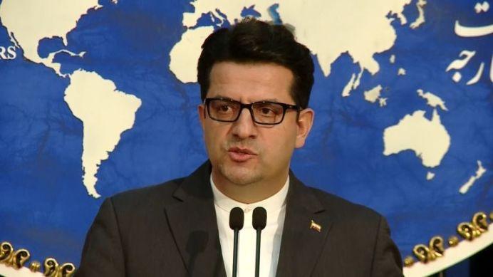 Foreign Ministry spokesman Abbas Mousavi. Reuters./