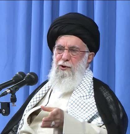 Iran's Khamenei. REUTERS./