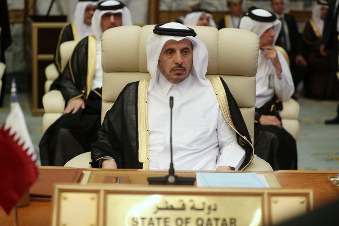 FILE PHOTO: Sheikh Abdullah bin Nasser bin Khalifa Al Thani. REUTERS/Hamad l Mohammed