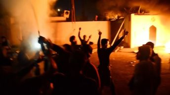 Iraqi forces kill several protesters after Iranian consulate torched