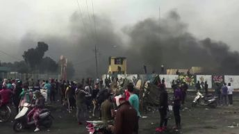 24 killed at Iraq protests in past two days, death toll at 354, U.N. says