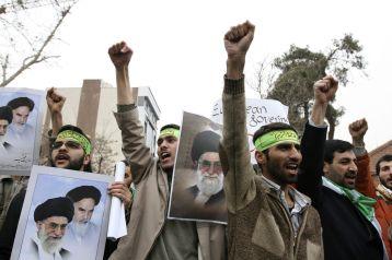 FILE PHOTO: Basij militia. REUTERS./
