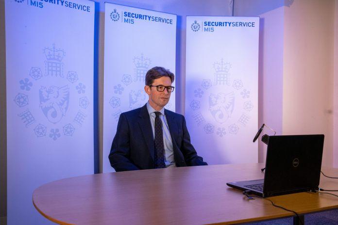 MI5 Director General Ken McCallum is photographed in London, Britain October 14, 2020. REUTERS./