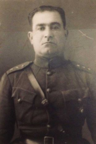 Forough's father, Army Colonel Mohammad Bagher Farrokhzad. Kayhan London