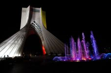 FILE PHOTO/REUTERS./ The Azadi Tower (formerly known as Shahyad Tower).