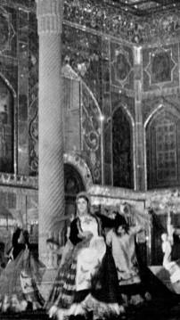 Farzaneh Kaboli - Dancing in Golestan Palace. KAYHAN LONDON./