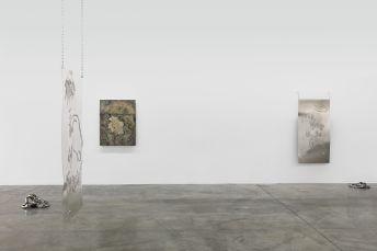 Installation view - Razed in isolation, 2021 - Monika Grabuschnigg. Courtesy Carbon 12. Photo credit: Anna Shtraus./
