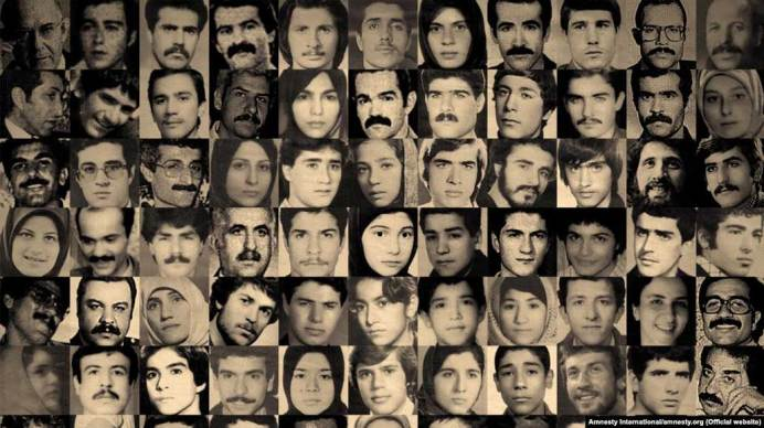 Some of the victims of 1988 massacre. Kayhan London./
