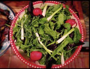 7. Sabzi Khordan (Basil, Cilantro, Cress, Dill, Fenugreek, Green Onion, Persian Leek, Mint, Parsley, Persian Shallot, Radish)