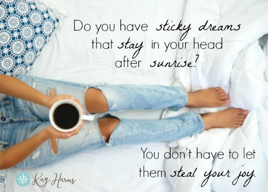 Do You Have Sticky Dreams that Stay in Your Head? - Graphic
