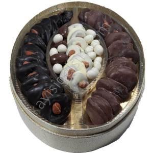 Hediyelik Çikolata kaplamalı gün kurusu kayısı paketi