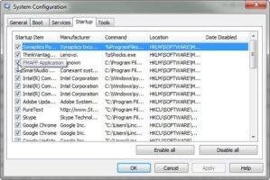 программы в автозагрузку на операционной системе