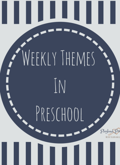 Why I Don't Like Weekly Themes